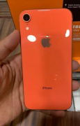 I phone XR 64 gb coral