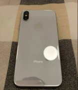 Apple iPhone X 64GB Silver with Bill Box