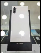 Samsung Note 10 plus White With box kit