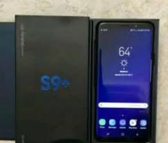 Samsung Galaxy S9 Plus Black 6/64 with Bill Box