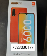 New Redmi 9 power SEALED PACK 4/128 GB
