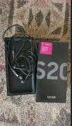 Samsung galaxy s20 256gb with complete accessories