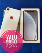 64GB WHITE IPHONE XR WITH WARRANTY
