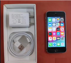 iPhone 5s with box Bill and charger Naver Repair