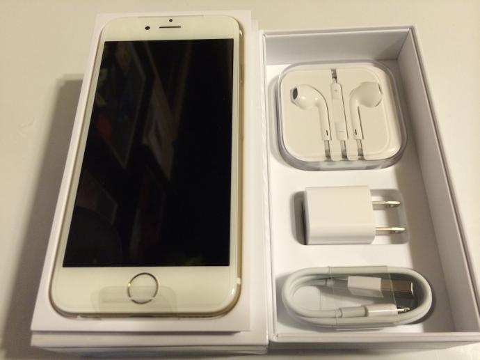 Ramadaan prom New Apple iPhone 6 Plus 16gb GOLD