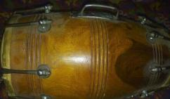 Less Used Dholak In Excellent Condition