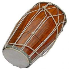 Used Handmade Wooden Dholak Available