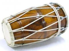 Sheesham Wooden used dholak