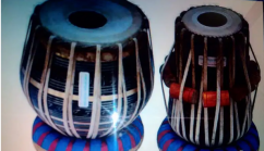 Tabla and Duggi one set with cover and hammer are available for sale