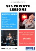 private music lessons