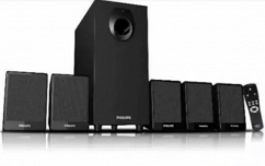 Philips 5.1 home theater with remote