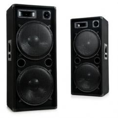 3000W PAIR DJ PA disco party 3 way loudspeaker boxes