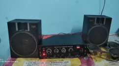 Amplifier and speaker