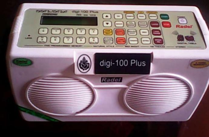 Electronic Tabla With More Than 100 Tunes