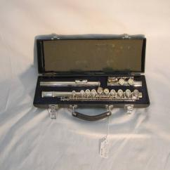 Silver Plated Flute In Great Condition