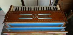Harmonium With Wooden Box