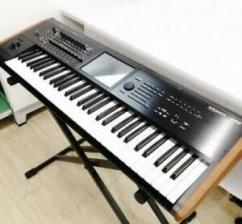 Less used musical keyboard