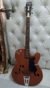 Used Brown colour guitar for sale