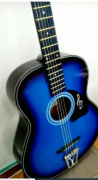 Brand new acoustic guitar in factory rate