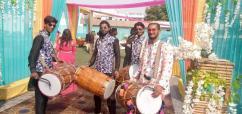 Harish Dhol player