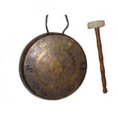 Tibetan Metal Gong
