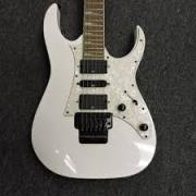 Less Used Guitar In White Color