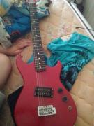 Red In Colora Electric Guitar