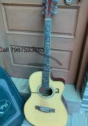 Hertz original acoustic guitar with tuner