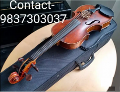 Violin With Nylon Thread Bow & Rosin