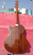 Fender acoustic jumbo guitar.