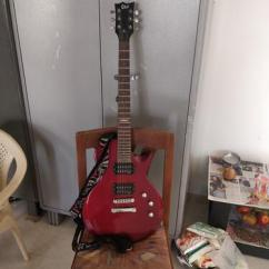 Electric Guitar and Laney Amplifier
