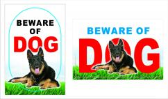 Beware of Dogs Signage