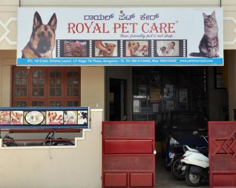 Royal Pet Care Services in Bangalore