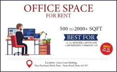 500 sqft Office For Rent Near Panchami Hotel Swarget