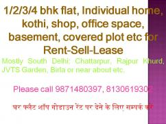 all size shop for rent in chattarpur