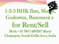 all type office space for rent in chattarpur