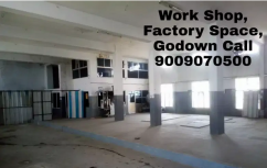 Factory Use Work Shop Hall Available For Rent