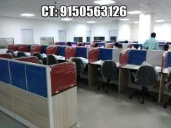 Furnished office for rent at IT Park-OMR with 100 Seaters, 5 Cabins, Conference