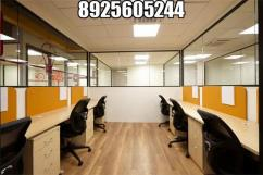 4000 sqft furn office floor in a very high commercial spot