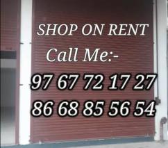 Prime location Shop for rent
