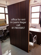 Fully furnished Office on rent in Laxmi Nagar