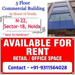 Commercial cum Retail Space for Rent in Sector -18, Noida