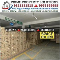 FMCG Pharma Godown Warehouse for Rent