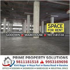 Commercial Industrial Godown for Rent