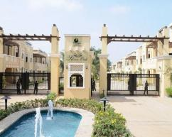 4BHK Prestige Silver Oak semi furnished villa available rent