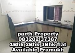 Semi furnished 2Bhk flat pramukh Residency
