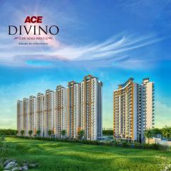 Ace Divino Apartments, Residential 2,3 bhk flats in noida extension