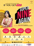 Super Nine Again Offer Navratri Bonanza