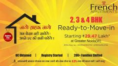 Buy you dream home at greater nodia with French Apartments.