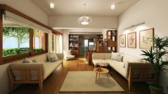 Total Environment In That Quiet Earth 2/3/4 BHK Apt Hennur Main Road